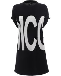 McQ by Alexander McQueen Logo T-Shirt Dress - Lyst