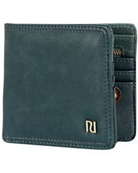 River Island Teal Ri Trim Wallet - Lyst
