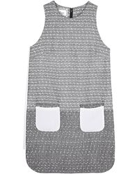 By Malene Birger Gojai Tweed Shift Dress - Lyst