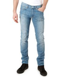 Acne Studios Ace Light Vintage Wash Jeans - Lyst