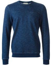 Oliver Spencer Crew Neck Sweatshirt - Lyst
