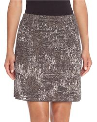 NIC+ZOE | Patterned Pencil Skirt | Lyst