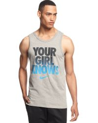 Nike Your Girl Knows Tank - Lyst