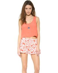 Mink Pink Electric Feel Tank - Lyst
