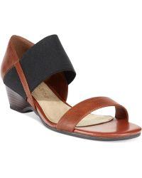 Bella Vita Palmer Ii Wedge Sandals - Lyst