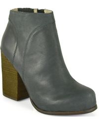 Jeffrey Campbell Hanger - Distressed Bootie - Lyst