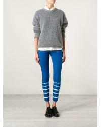 Stella McCartney Tie-dye Skinny Jeans - Lyst