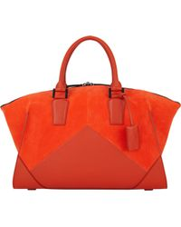 Narciso Rodriguez Trapezoid Duffel - Lyst