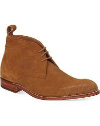 Grenson Marcus Desert Boots - For Men - Lyst