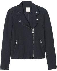 Rebecca Taylor Boucle Moto Jacket - Lyst