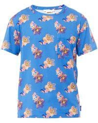 Marc Jacobs Floralprint Cotton Tshirt - Lyst