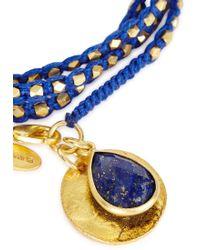 Ashiana - Savannah 24kt Gold-plated Wrap Bracelet - Lyst