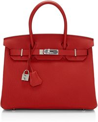Heritage Auctions Special Collections Hermes 30cm Vermilion Togo Leather Birkin - Lyst