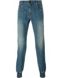 Juun.J - Elastic Cuff Jeans - Lyst