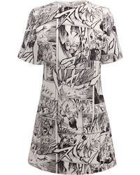 McQ by Alexander McQueen T-Shirt Dress - Lyst
