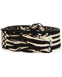 Etoile Isabel Marant Upper Bi-Colour Carpet Belt - Lyst