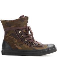Converse Chuck Taylor All Star Combat Boot High-Top Sneakers - Lyst