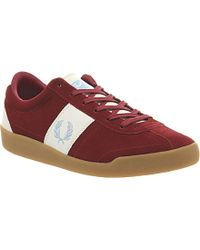 Fred Perry Stockport Suede Trainers - For Men - Lyst