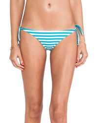 Mikoh Swimwear Venice Basic Tie Bottom - Lyst