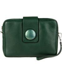 Carmina Campus Green Handbag - Lyst
