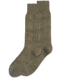 Calvin Klein Chunky Texture Casual Crew Socks - Lyst