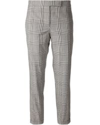 Thom Browne Classic Check Trousers - Lyst