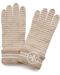 Tory Burch - Striped Glove - Lyst