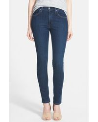 James Jeans 'Twiggy' High Rise Skinny Jeans - Lyst