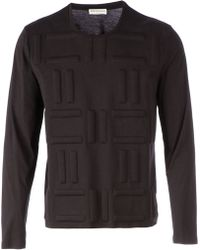 Balenciaga Padded Detail Sweater - Lyst