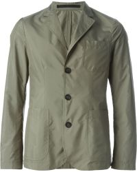 Giorgio Armani Three Button Blazer - Lyst