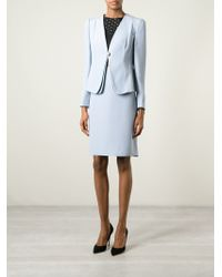 Armani Blazer And Skirt Suit - Lyst