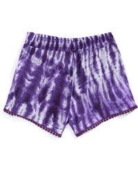 Material Girl - Pull-on Tie Dye Shorts - Lyst