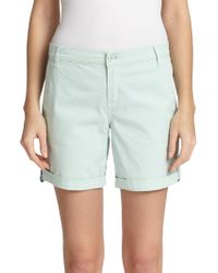Tory Burch Chino Shorts - Lyst