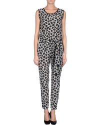 Love Moschino Pant Overall - Lyst