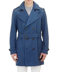 Aquascutum Patmore Trench Coat blue - Lyst