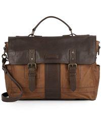 Frye - Trevor Leather Briefcase - Lyst
