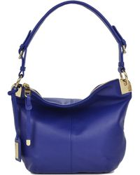 Badgley Mischka Marge Nappa Leather Hobo Handbag - Lyst
