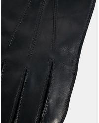 Esprit - Leather Gloves - Lyst