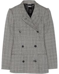 Alexander McQueen Glen Plaid Wool And Mohair-Blend Blazer - Lyst