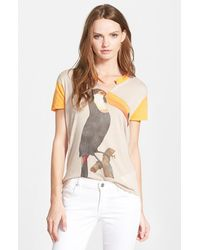 Wildfox 'Toucan' Short Sleeve Tee - Lyst