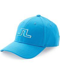 J.Lindeberg - Banji Flexi Twill Golf Hat Intense Blue - Lyst
