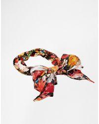 Asos Multicolor Gem Headscarf - Lyst