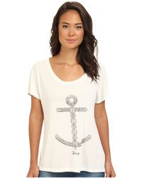 Obey Knit Anchor Modern Dolman - Lyst