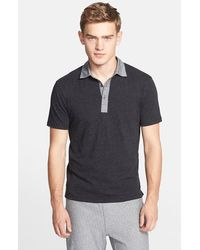 Todd Snyder Chambray Collar Polo - Lyst