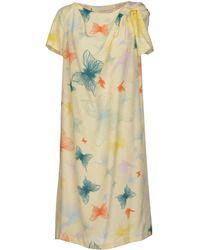 Cacharel Knee-Length Dress - Lyst