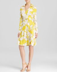 Diane von Furstenberg Wrap Dress - New Jeanne Two Silk - Lyst