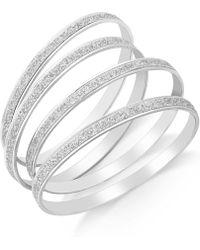 Style & Co. - Glitter Bangle Bracelet Set - Lyst