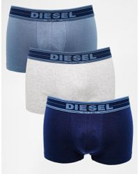 DIESEL - Trunks In 3 Pack - Lyst
