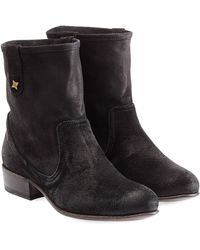 Fiorentini + Baker Suede Ankle Boots - Lyst
