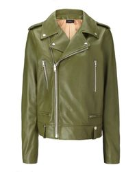 Joseph Biker Leather Ryder Jacket - Lyst